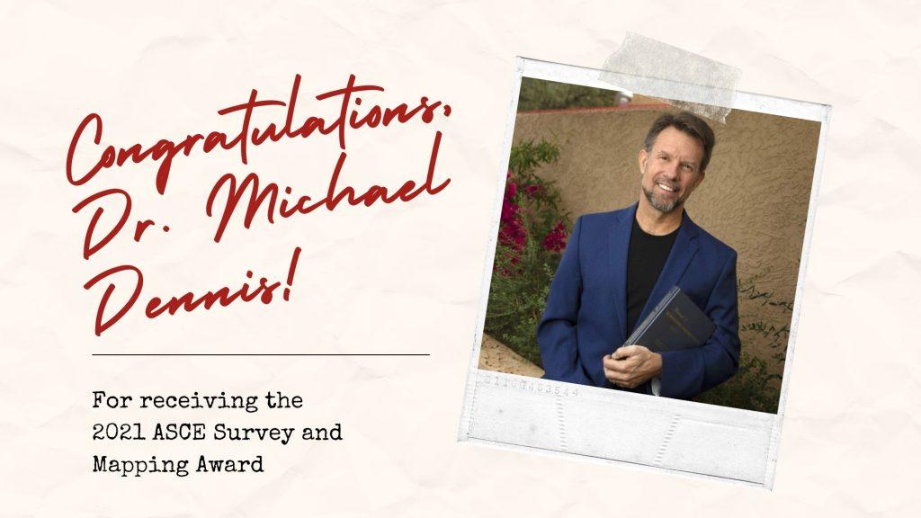 Congratulations, Dr. Michael Dennis